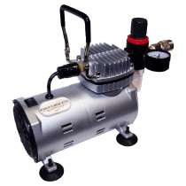 Inkedibles AirBrush Compressor - Heavy Duty Series