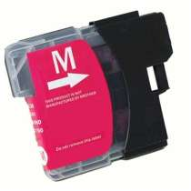 Brother LC61M Magenta ink compatible inkjet cartridge