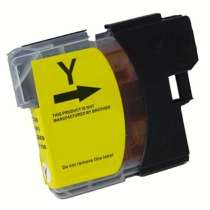 Brother LC61Y Yellow ink compatible inkjet cartridge