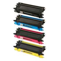 Brother TN210BK / TN210C / TN210M / TN210Y compatible toner cartridges - 4-pack