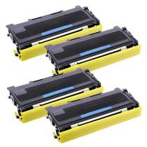 Brother TN360 High Yield Black compatible toner cartridges - 4-pack