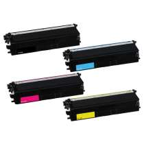 Brother TN433BK / TN433C / TN433M / TN433Y toner cartridges - 4-pack