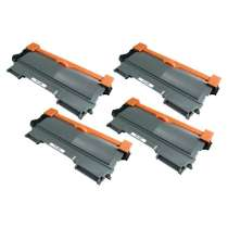 Brother TN450 High Yield Black compatible toner cartridges - 4-pack