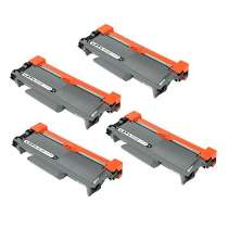 Brother TN660 High Yield Black compatible toner cartridges - 4-pack