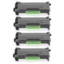 Brother TN850 High Yield Black toner cartridges - 4-pack