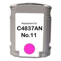 HP 11 Magenta (HP C4837AN) Magenta ink remanufactured inkjet cartridge