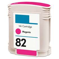 HP 82XL Magenta (HP C4912A) High Capacity Magenta ink remanufactured inkjet cartridge