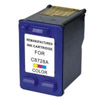 HP 28 (HP C8728AN) Color ink remanufactured inkjet cartridge