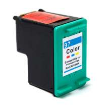 HP 97 (HP C9363WN) Color ink remanufactured inkjet cartridge