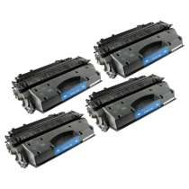 Canon 119 Black - 3479B001AA remanufactured/compatible toner cartridges - 4-pack
