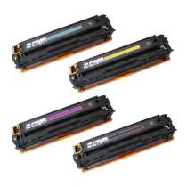 Canon 131 remanufactured/compatible toner cartridges - 4-pack