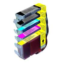 Multipack Canon BCI-3eBk / BCI-6Bk / BCI-6C / BCI-6M / BCI-6Y - 5 compatible inkjet cartridges - 1 of each