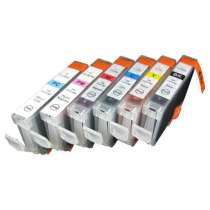 Multipack Canon BCI-6 - 6 compatible inkjet cartridges - 1 each Black, Cyan, Magenta, Yellow, Photo Cyan, Photo Magenta