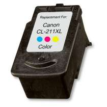 Canon CL-211XL Color ink remanufactured inkjet cartridge