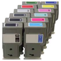 Multipack Canon PFI-206 - 12 compatible inkjet cartridges