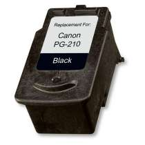Canon PG-210 Pigmented Black ink remanufactured inkjet cartridge