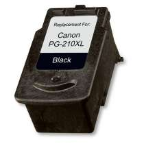 Canon PG-210XL High Capacity Black ink remanufactured inkjet cartridge
