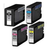 Multipack Canon PGI-1200 XL - 4 compatible inkjet cartridges