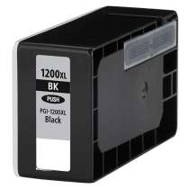 Canon PGI-1200BK XL Pigmented Black ink compatible inkjet cartridge