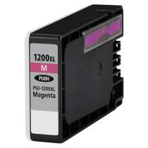 Canon PGI-1200M XL Pigmented Magenta ink compatible inkjet cartridge