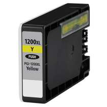 Canon PGI-1200Y XL Pigmented Yellow ink compatible inkjet cartridge