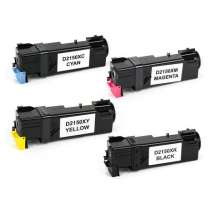 Dell 331-0719 / 331-0716 / 331-0717 / 331-0718 High Yield compatible toner cartridges - 4 pack
