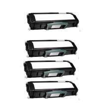 Dell 330-4130 Black compatible toner cartridges - 4-pack