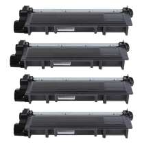 Dell 593-BBKD High Yield Black compatible toner cartridge - 4-pack