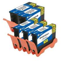 Multipack Dell Series 33 - 5 compatible inkjet cartridges - 2 Black and 1 each Cyan, Magenta, Yellow