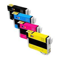 Multipack Epson 288XL - 4 remanufactured inkjet cartridges - 1 each Black, Cyan, Magenta, Yellow