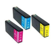 Multipack Epson 786XL - 3 remanufactured inkjet cartridges - 1 each Cyan, Magenta, Yellow