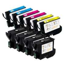 Multipack Epson T032 / T042 - 10 remanufactured inkjet cartridges - 4 Black and 2 each Cyan, Magenta, Yellow