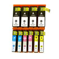 Multipack Epson 68 / 69 - 10 remanufactured inkjet cartridges - 4 Black and 2 each Cyan, Magenta, Yellow