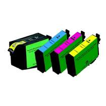 Multipack Epson 252XL - 4 remanufactured inkjet cartridges - 1 each Black, Cyan, Magenta, Yellow