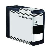 Epson T580800 Matte Black ink compatible inkjet cartridge