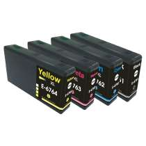 Multipack Epson 676XL - 4 remanufactured inkjet cartridges - 1 each Black, Cyan, Magenta, Yellow