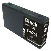 Epson 676XL Black (T676XL120) High Capacity Pigmented Black ink remanufactured inkjet cartridge