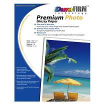 DuraFirm 8.5x11 Premium Glossy Photo Paper - 20 sheets
