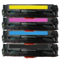 HP 131A - CF210A / CF211A / CF212A / CF213A remanufactured/compatible toner cartridges - 4-pack