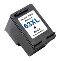 HP 63XL (F6U64AN) High Capacity Black ink remanufactured inkjet cartridge