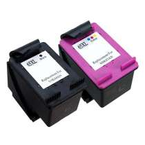 Multipack HP 65XL - 2 remanufactured inkjet cartridges - 1 each Black, Color