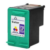 HP 75XL (HP CB338WN) High Capacity Color ink remanufactured inkjet cartridge