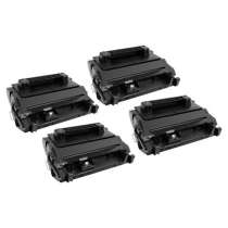 HP 81A Black - CF281A remanufactured/compatible toner cartridges - 4-pack