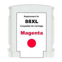 HP 88XL Magenta (C9392AN) High Capacity Magenta ink remanufactured inkjet cartridge
