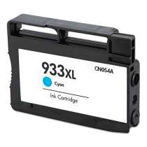 HP 933XL Cyan (HP CN054AN) High Capacity Cyan ink remanufactured inkjet cartridge