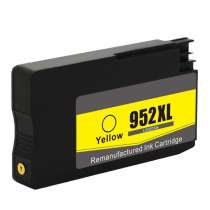 HP 952XL (L0S67AN) High Capacity Yellow remanufactured inkjet cartridge