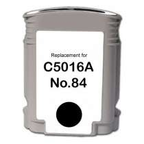 HP 84 Black (HP C5016A) Black ink remanufactured inkjet cartridge