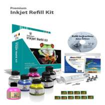 Fillserv Refill Kit for Lexmark 150XL with Chips - 5 refills