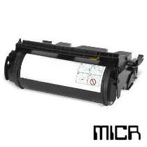 Lexmark 12A7365 MICR High Yield Black remanufactured toner cartridge