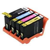 Multipack Lexmark #150XL / #150XLA - 4 compatible inkjet cartridges - 1 each Black, Cyan, Magenta, Yellow